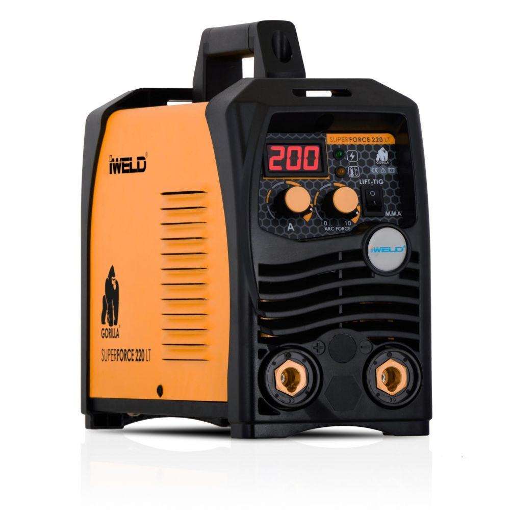 IWELD GORILLA SUPERFORCE 220 LT Hegesztő inverter